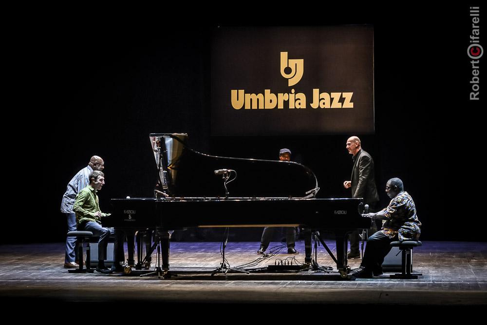 Kenny Barron, Benny Green, Eric Reed, Dado Moroni, Cyrus Chestnut, Umbria Jazz 2017