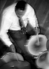 """""""Drummerman"""" AKA Lenny Robinson"""