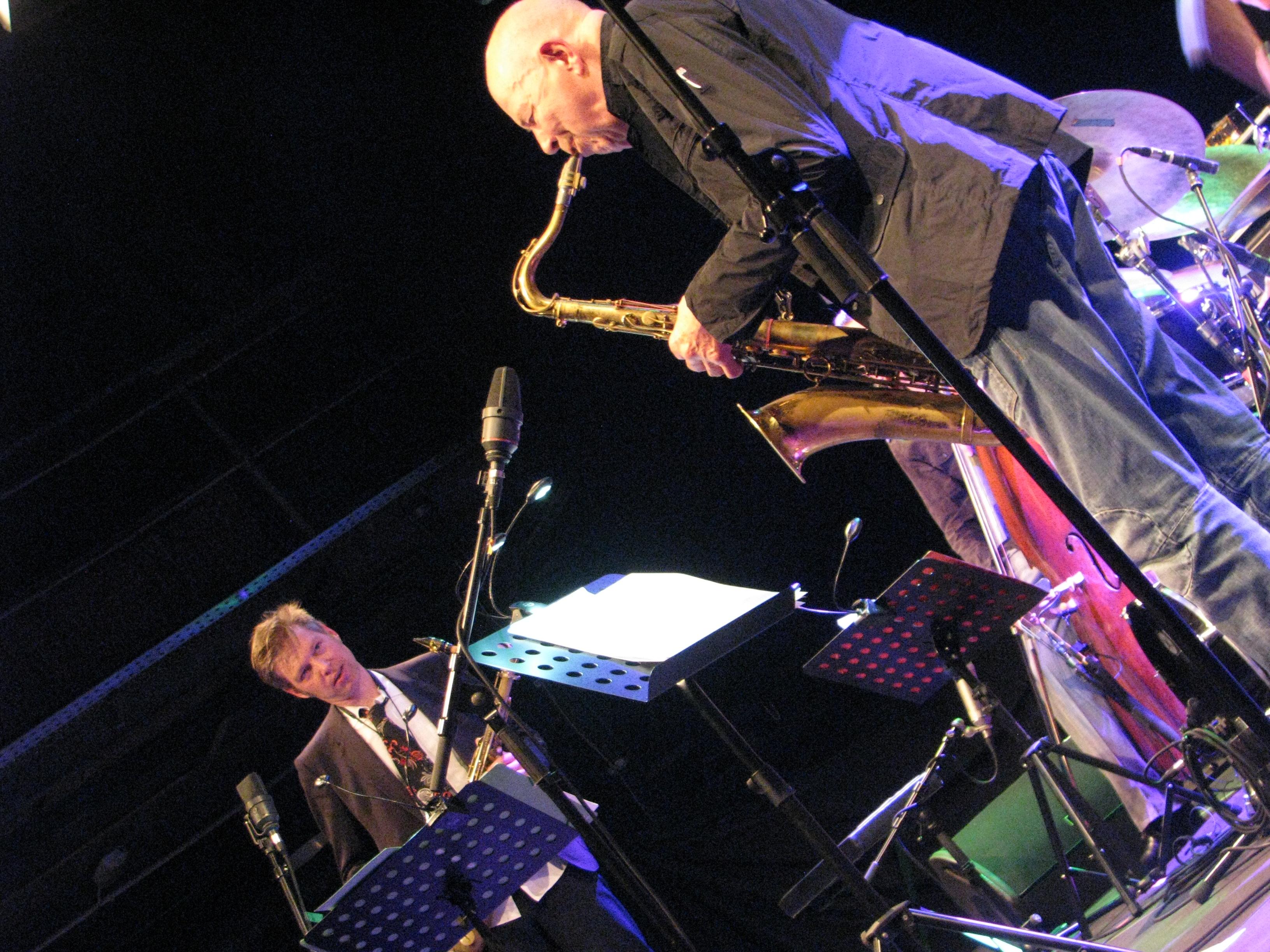 Daniel erdmann + heinz sauer jazzdor berlin 2013