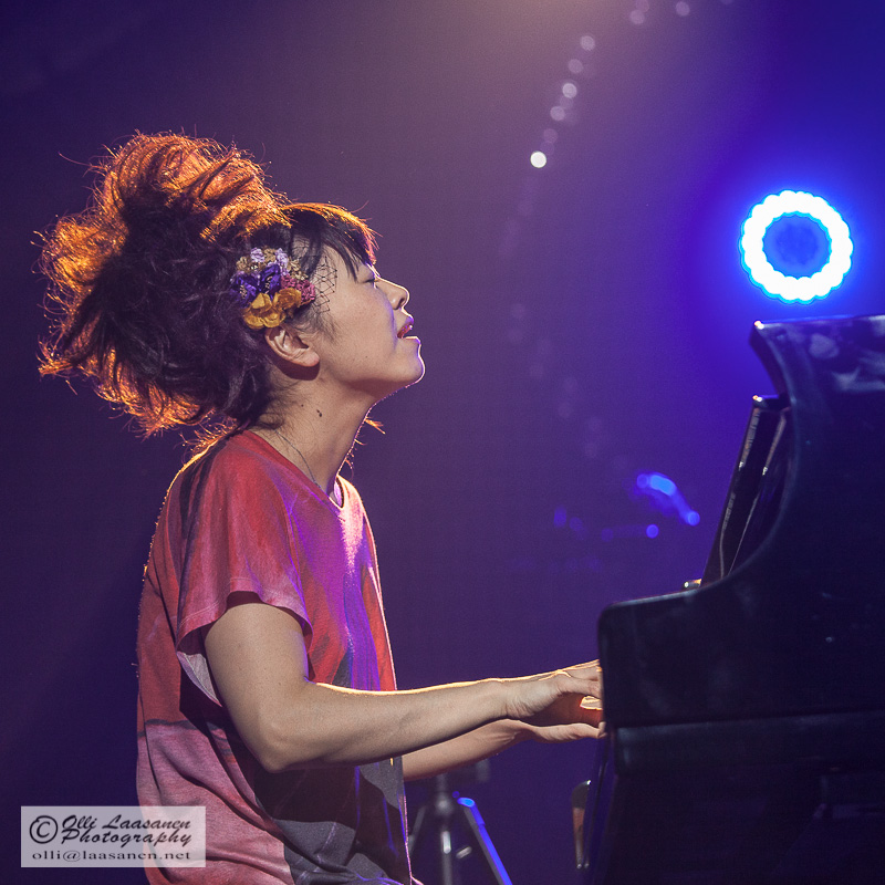 Hiromi at april jazz, espoo
