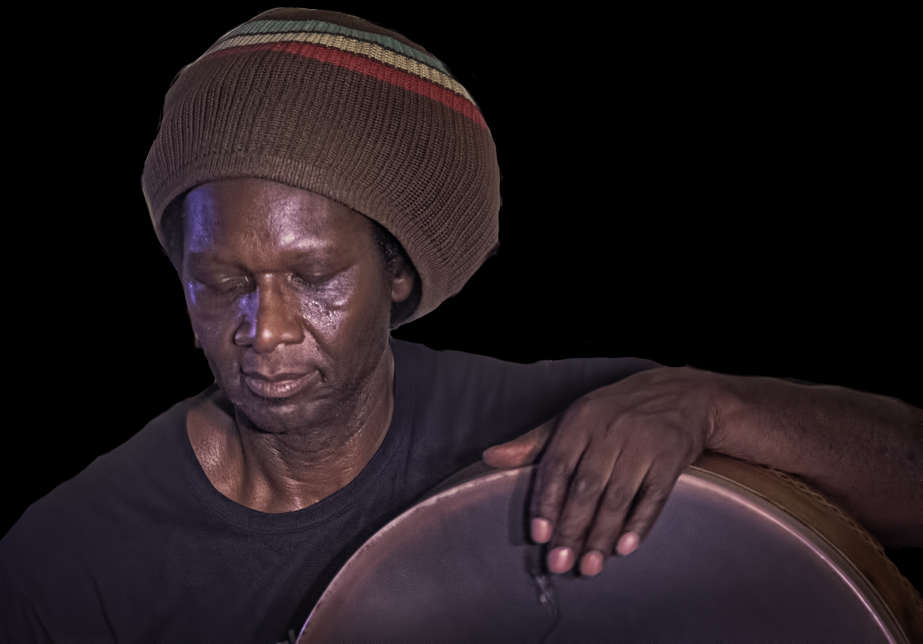 Hamid Drake with Karuna at the Guelph Jazz Festival 2019