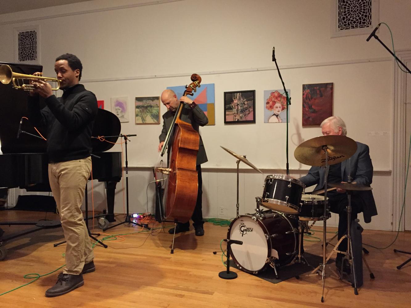 Harvey Diamond Quartet at the New School of Music