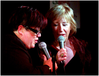 Lea Delaria, Norma Winstone 22381 Pizza Express, Dean St., London. Feb. 19th 2008. Images of Jazz