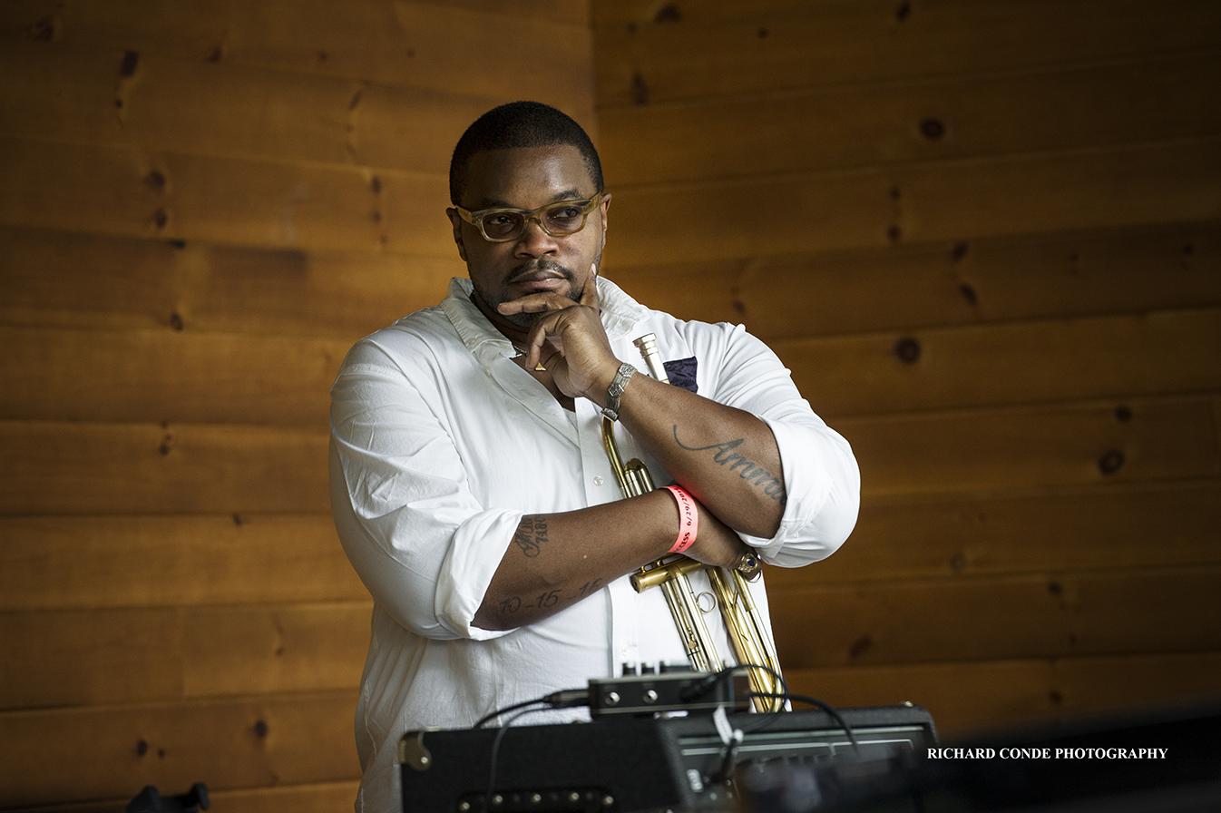 Jeremy Pelt at the Saratoga Jazz Festival