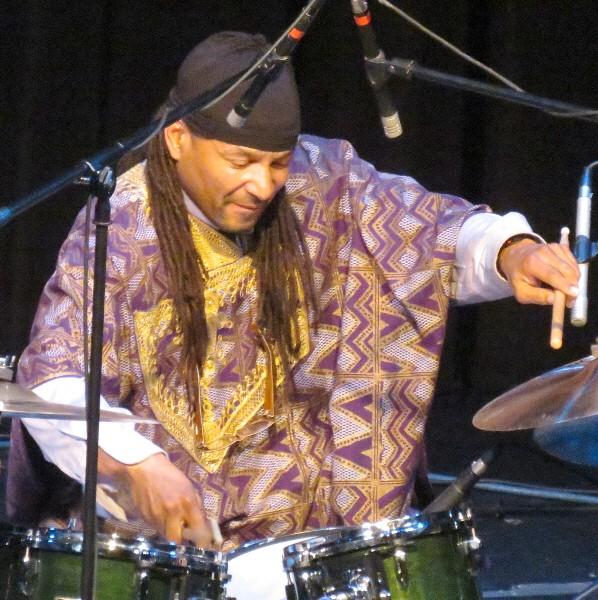 Kenwood Dennard with Stanley Jordan Trio, Miniaci Pac, Fort Lauderdale, 1/12/13