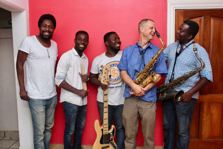 Benjamin Boone and the Ghana Jazz Collective
