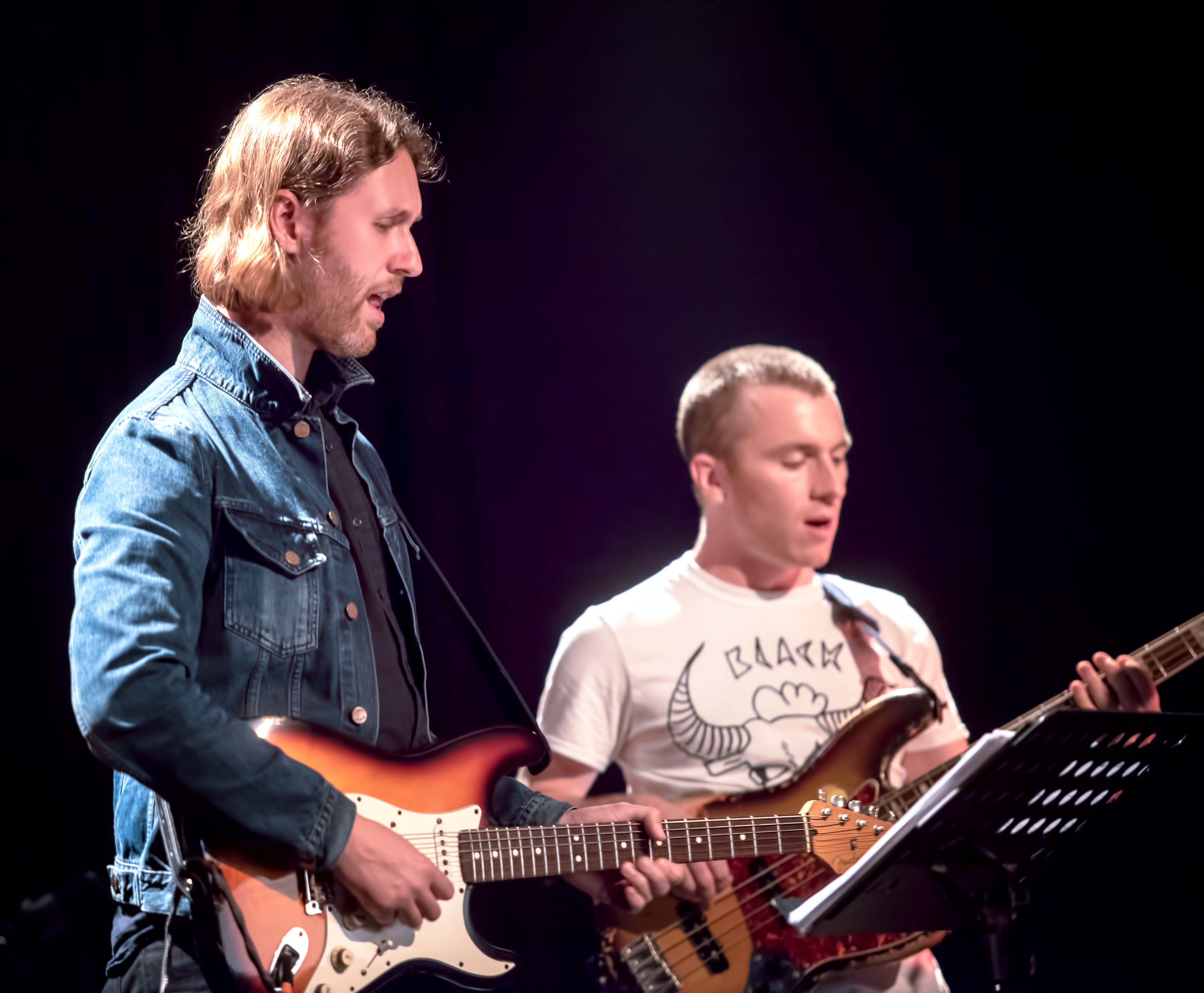 Nir Felder And Remi-jean Leblanc With Ensemble Remi-jean Leblanc At The Montreal International Jazz Festival
