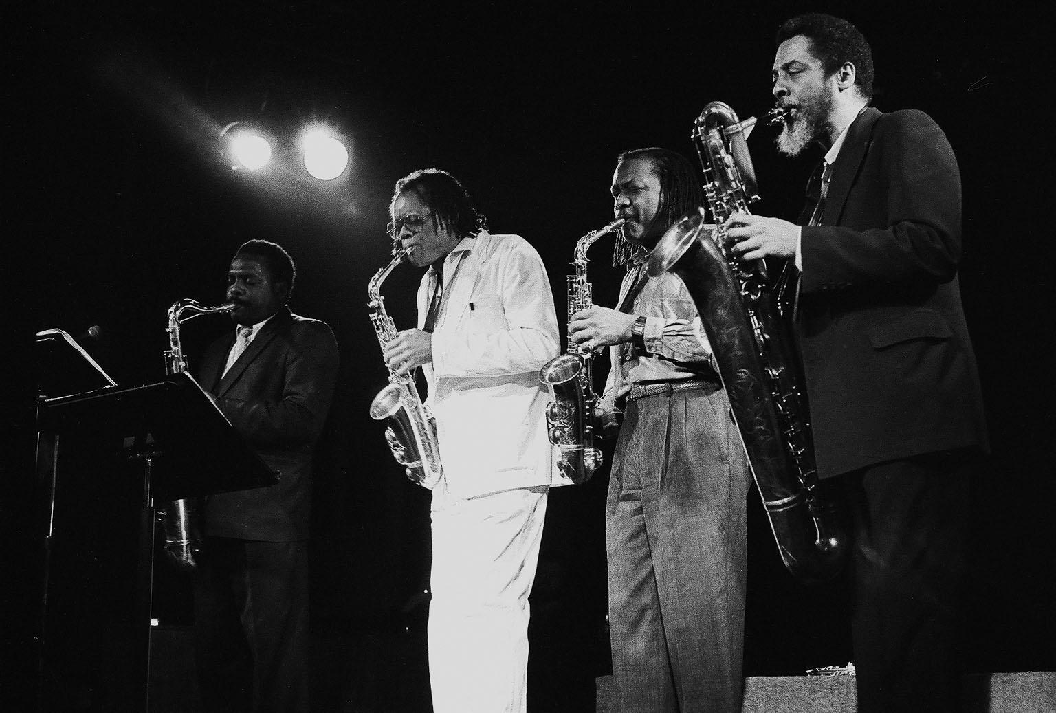 The World Saxophone Quartet