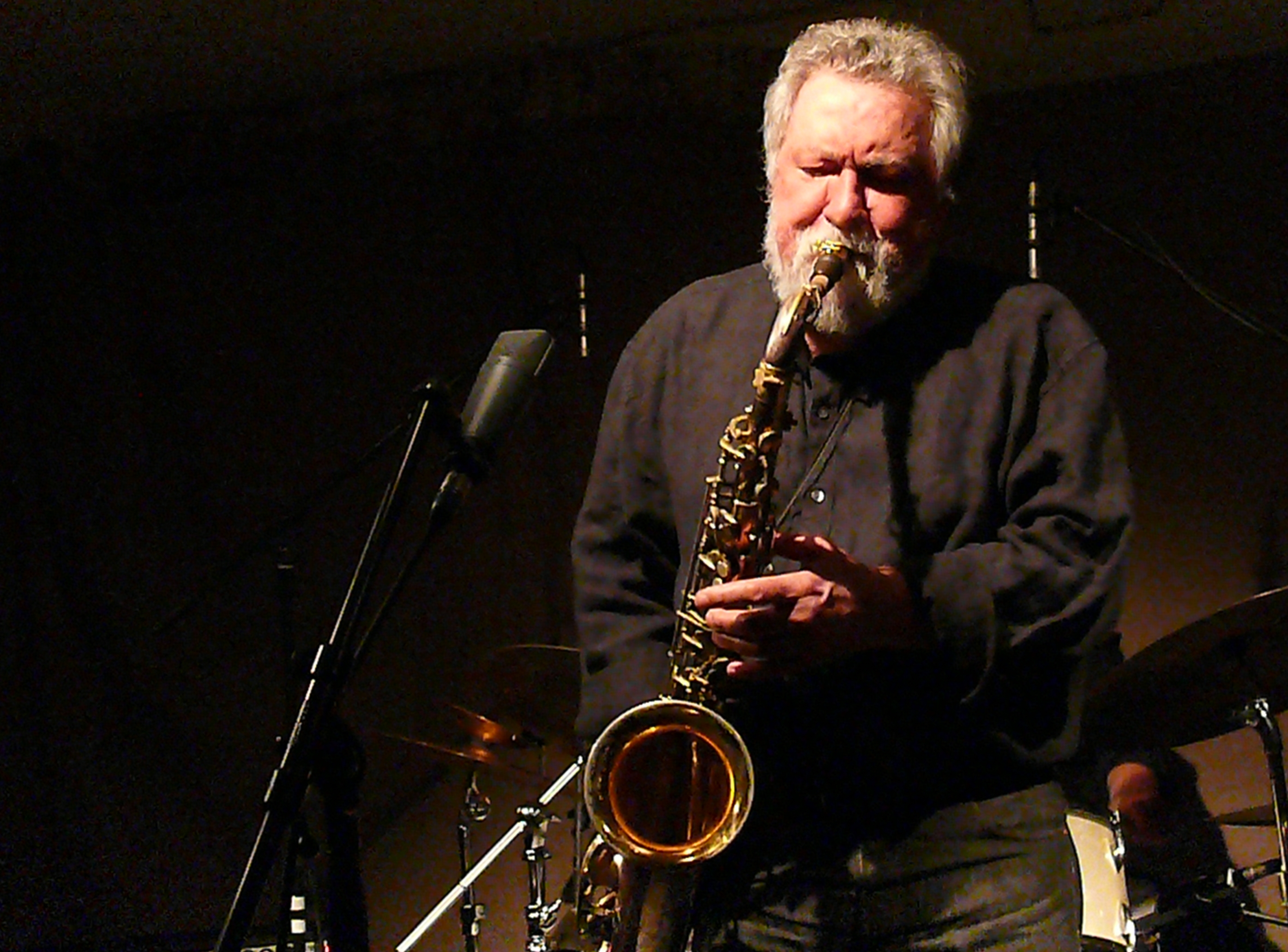 Evan Parker at Cafe Oto, London in March 2012