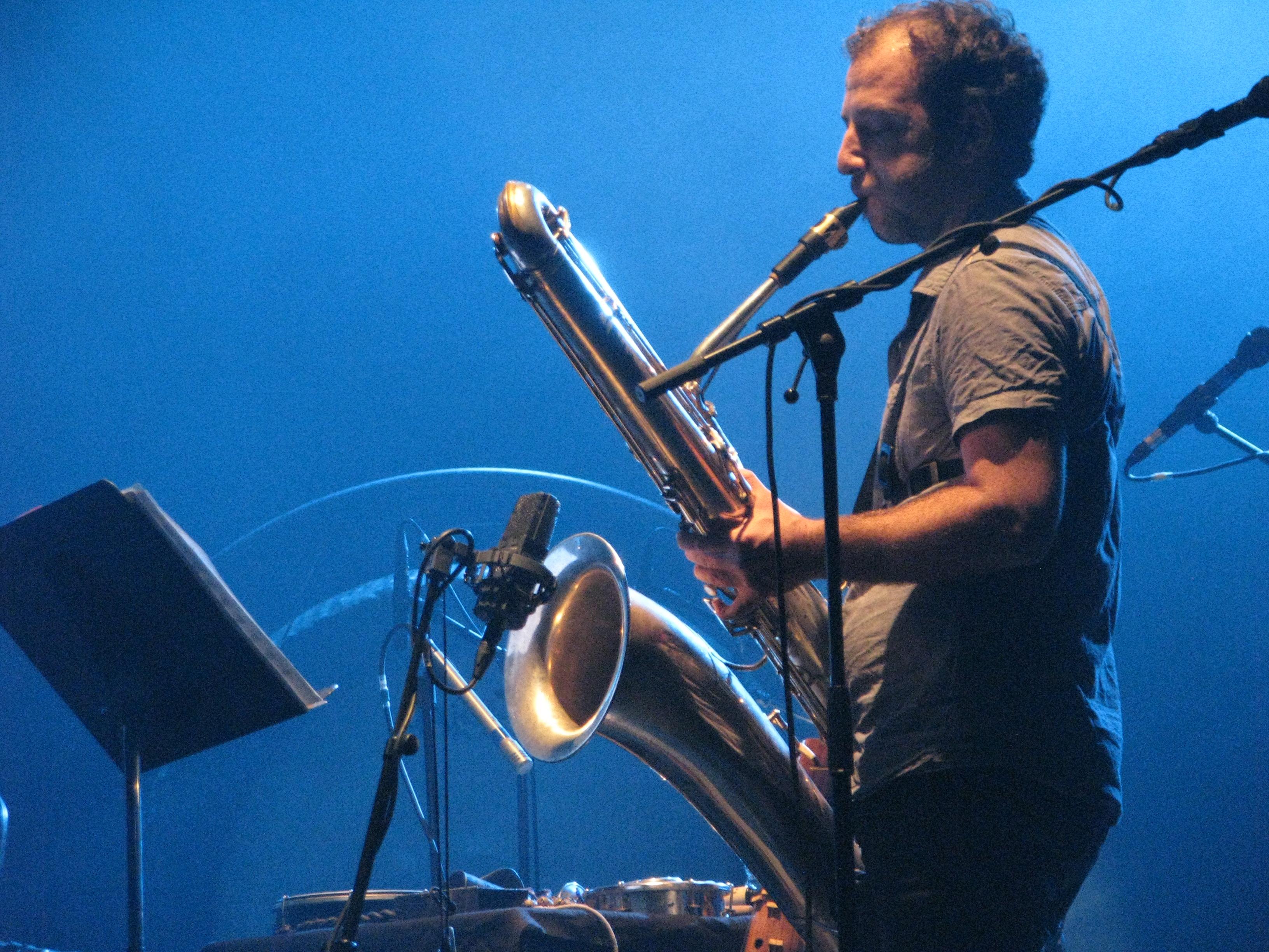Gerald Chevillon Jazzdor Strasbourg 2014