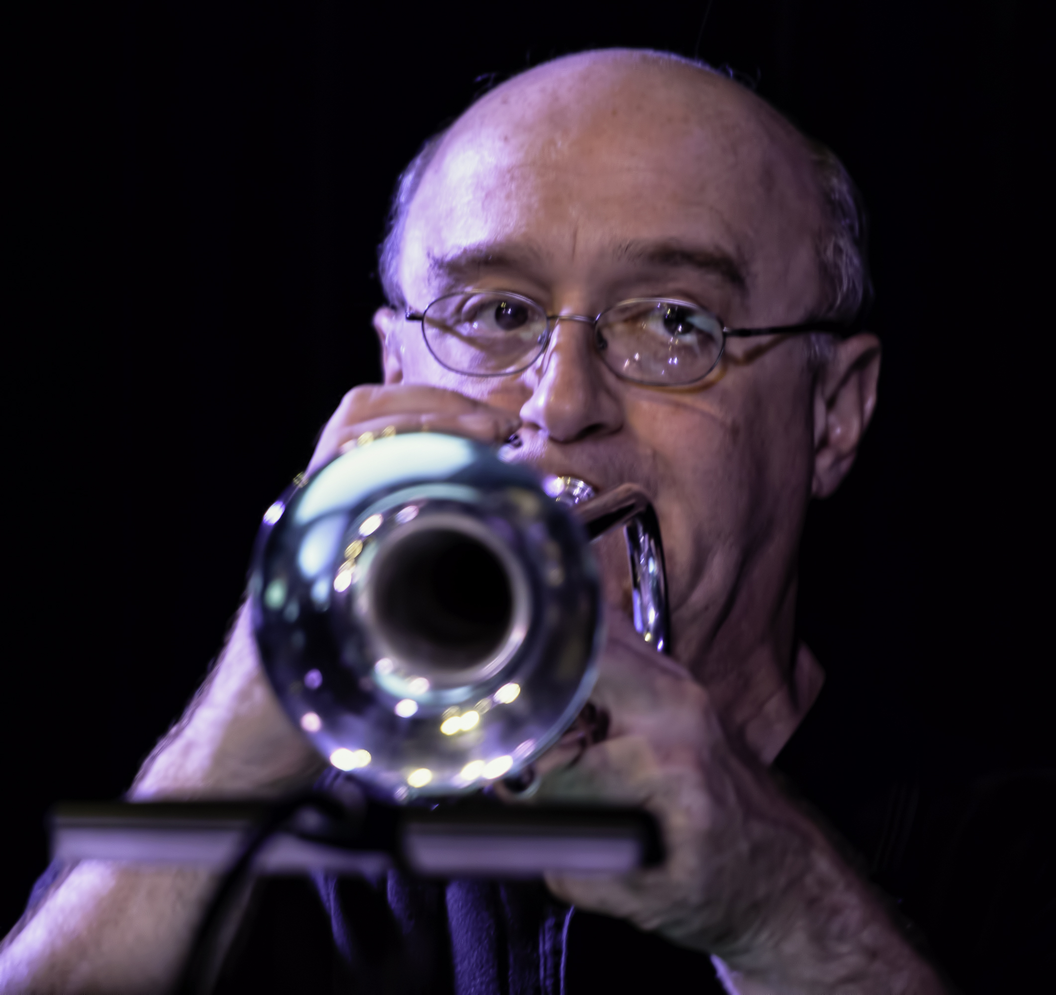 Bruce Gates with the Scottsdale Community College Jazz Orchestra at the Nash in Phoenix