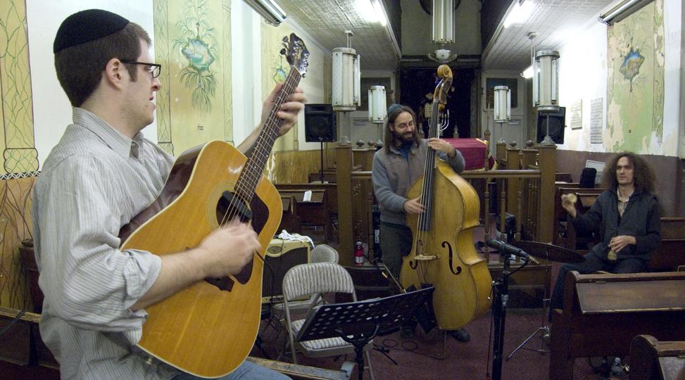 Rashanim (Jon Madof, Mathias Kunzli &Amp; Shanir Ezra Blumenkranz) - Stanton Street Shul 2008