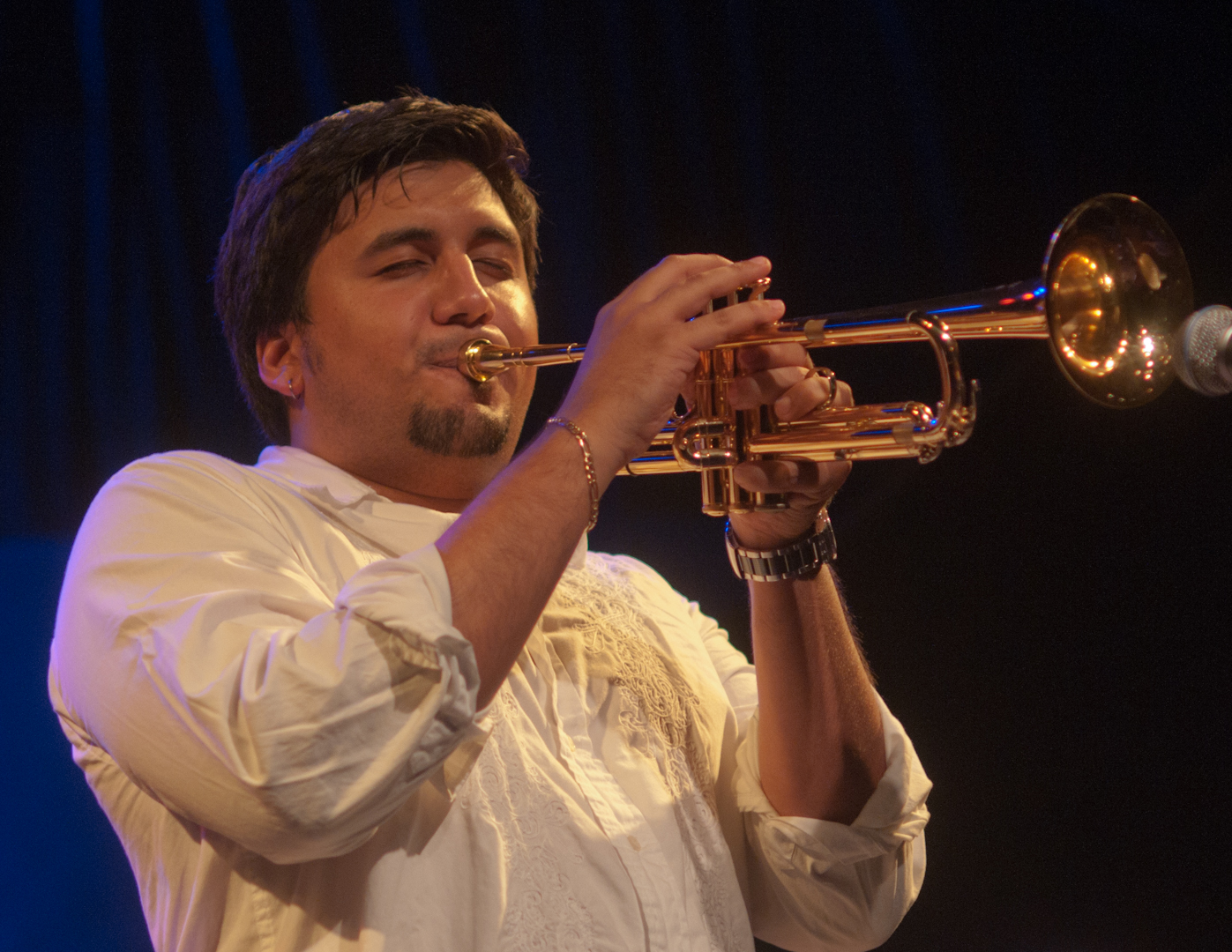 Michael Rodriguez at the Jam Sessions at the Oslo Jazz Festival