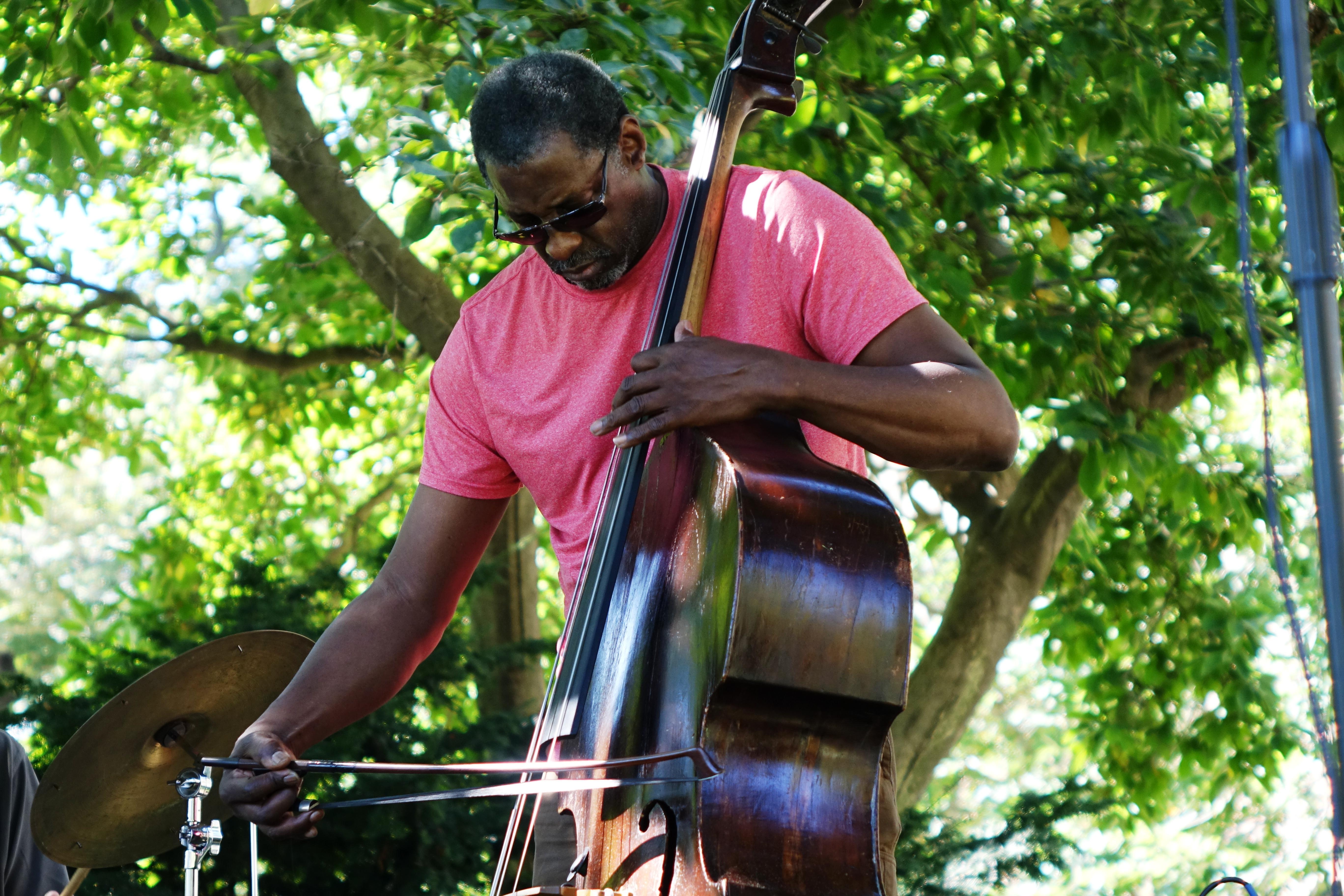 Larry Roland in Corlears Hook Park in September 2017