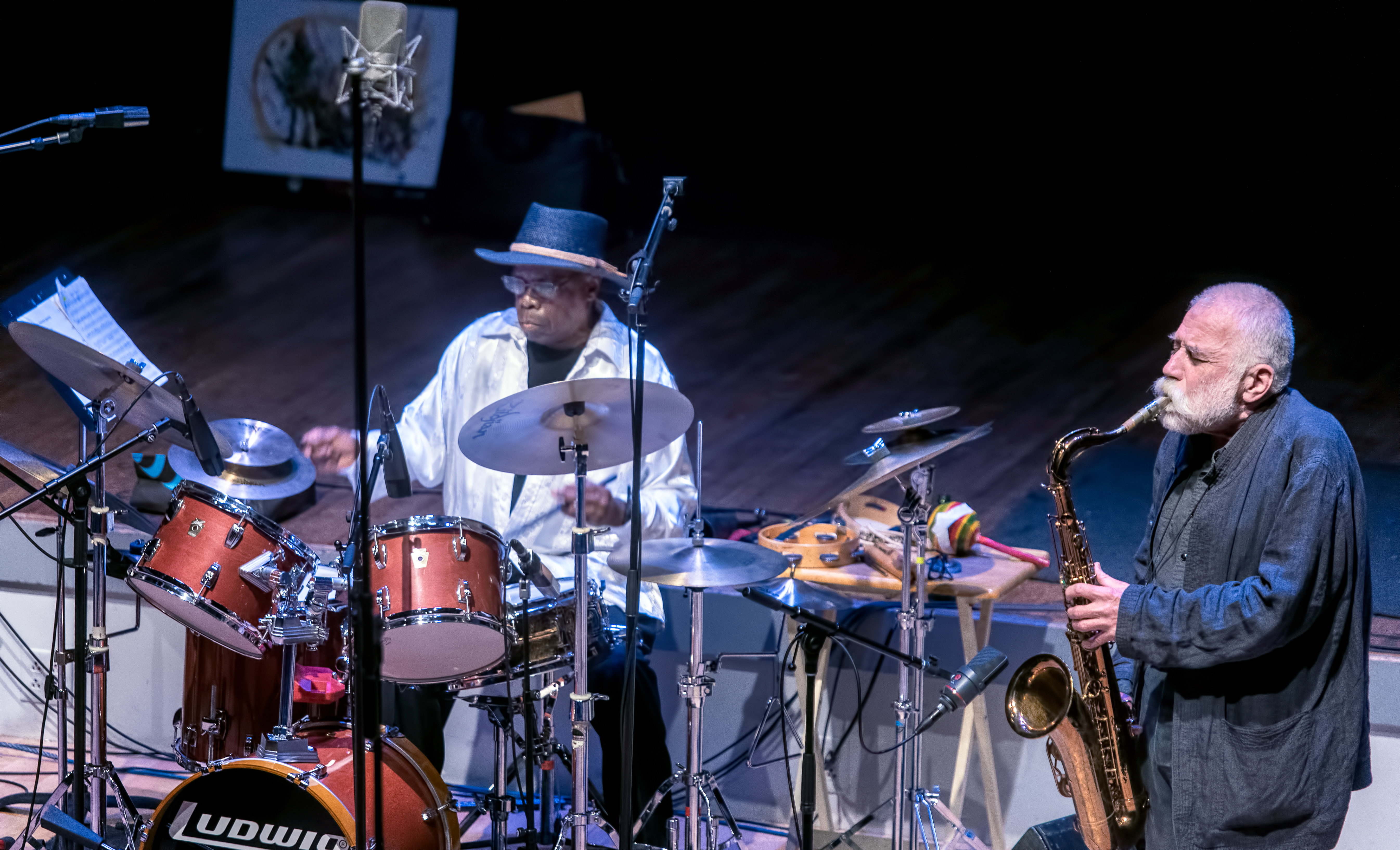 Andrew Cyrille and Peter Brötzman At the Vision Festival 2019