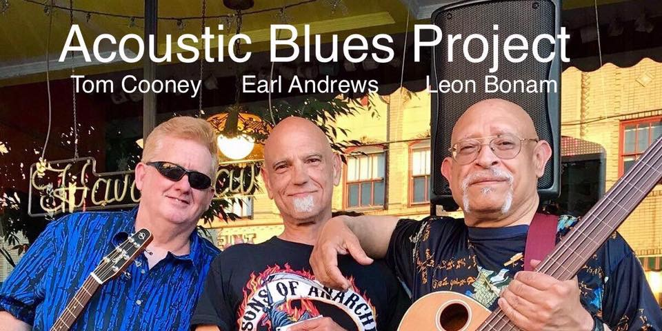 Tom Cooney with Acoustic Blues Project at Hava Java Cafe, Allentown PA US