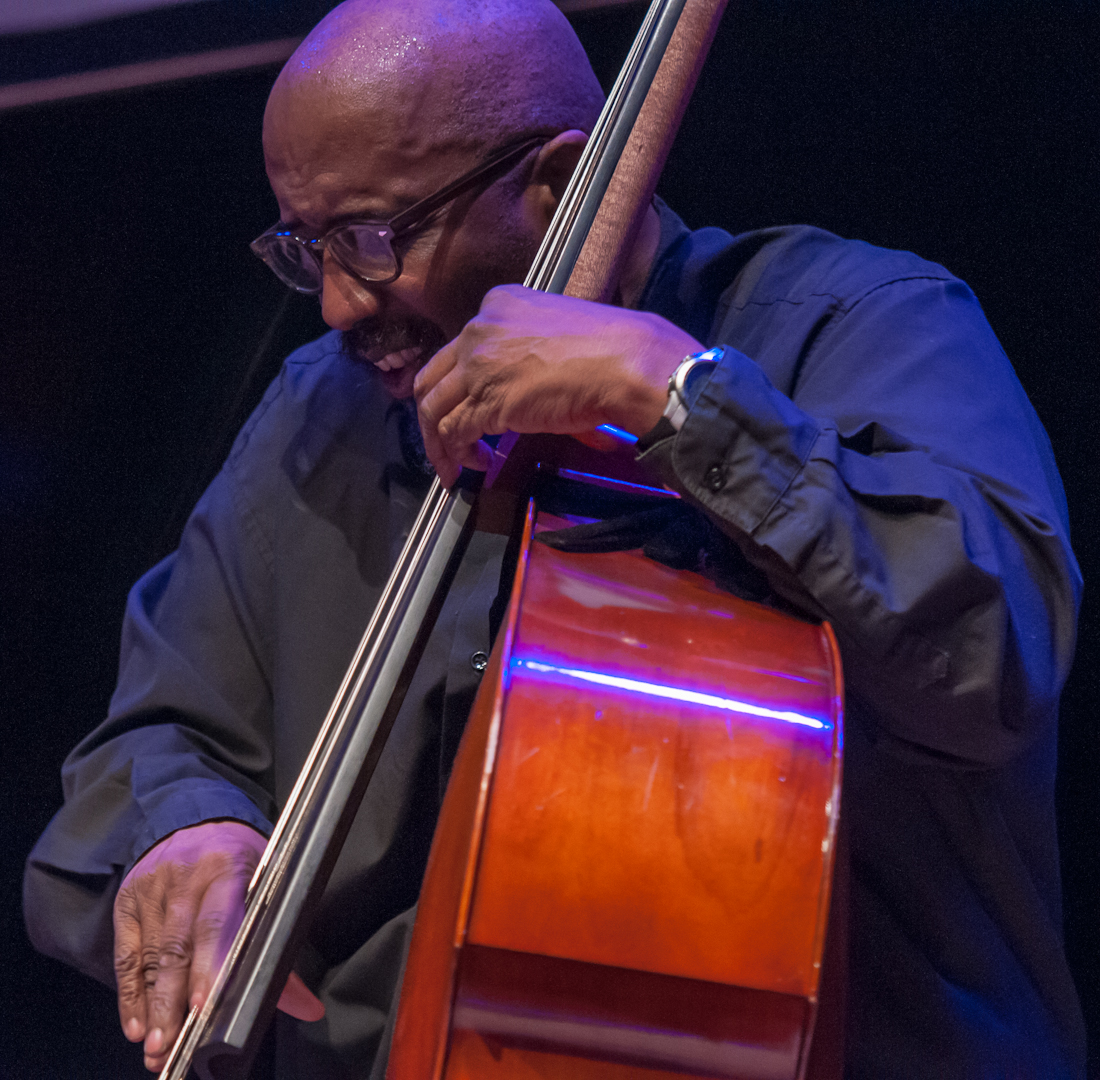William Parker with the Sonny Simmons Ensemble at the Vision Festival 2012
