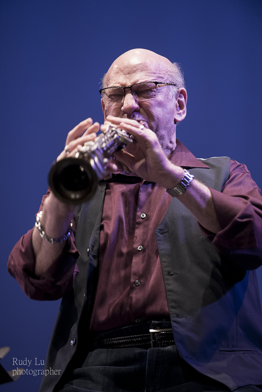 Dave Liebman with the Fearless Masters