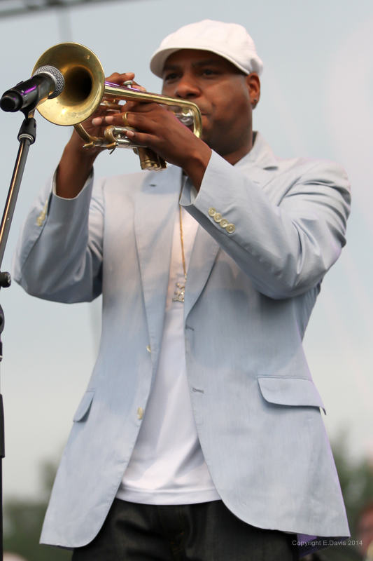 Russell Gunn Performs at the Atlanta Jazz Festival