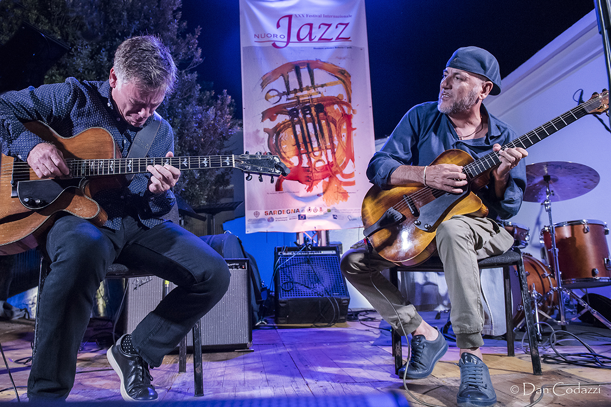 Peter Bernstein and Bebo Ferra, Peter Bernstein and friends, Festival Nuoro Jazz 2018