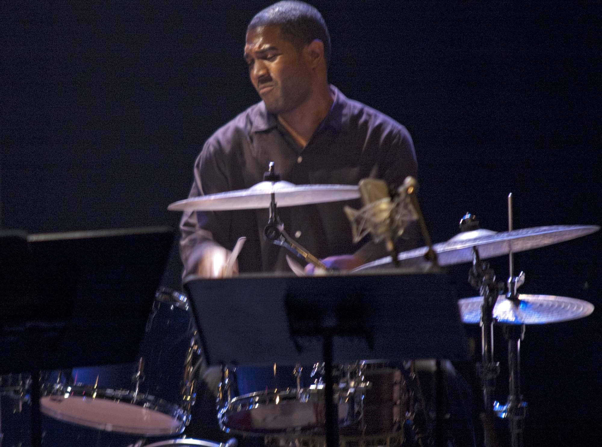 Damion Reid, Montreal Jazz Fest 2011