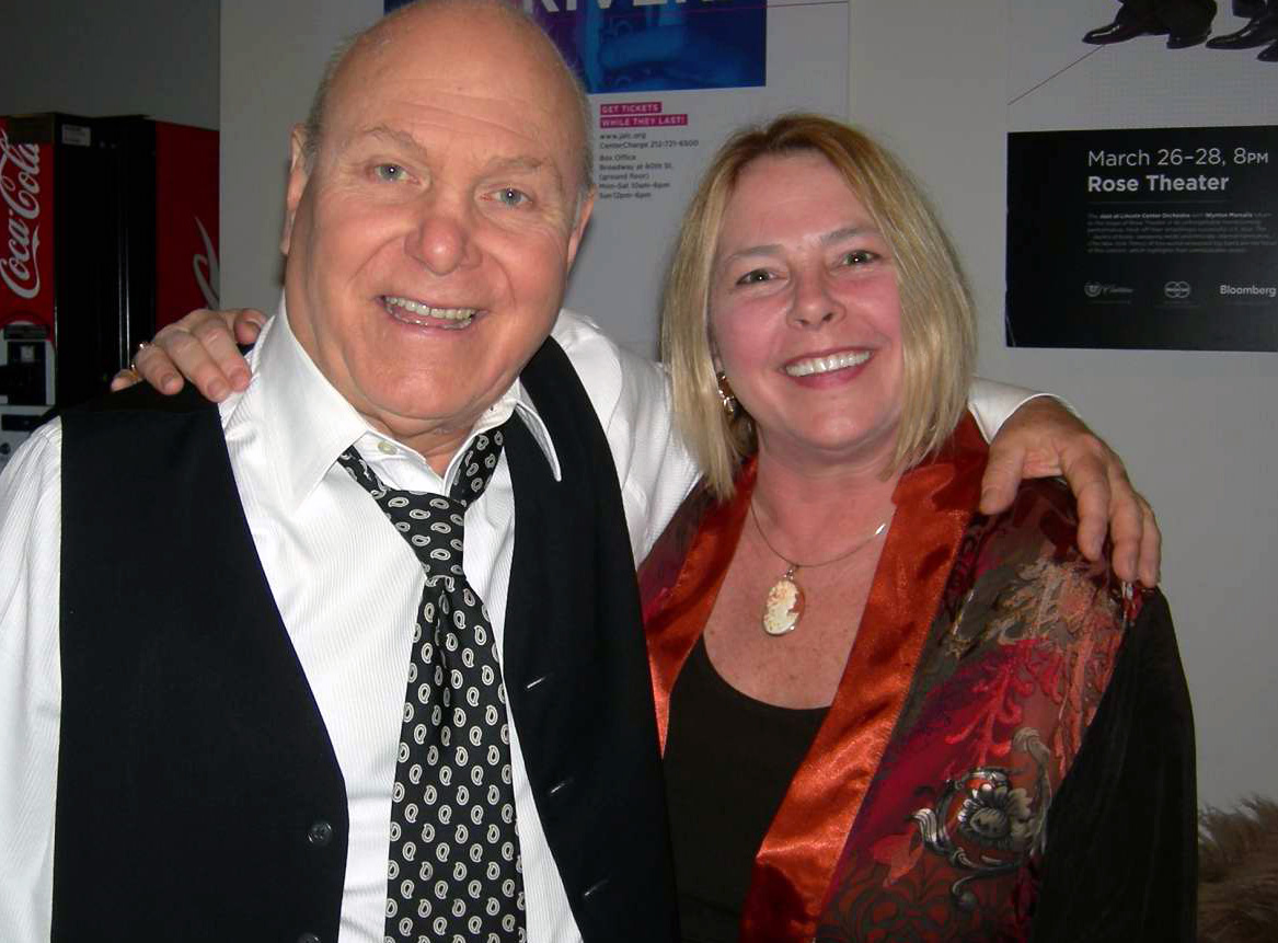 Erin Dickens with Manhattan Transfer Teammate Tim Hauser