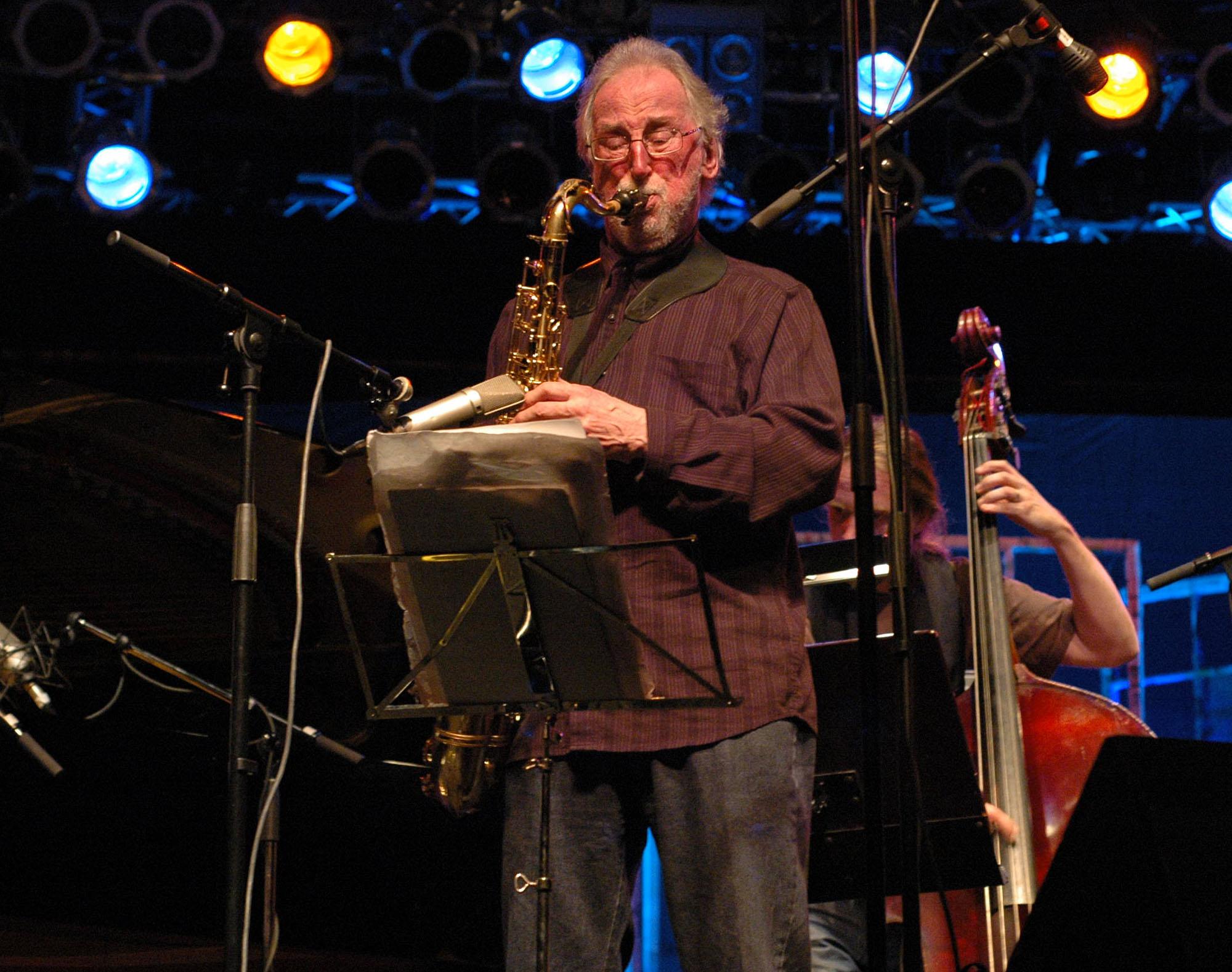Juhani Aaltonen at 2010 Tampere Jazz Happening