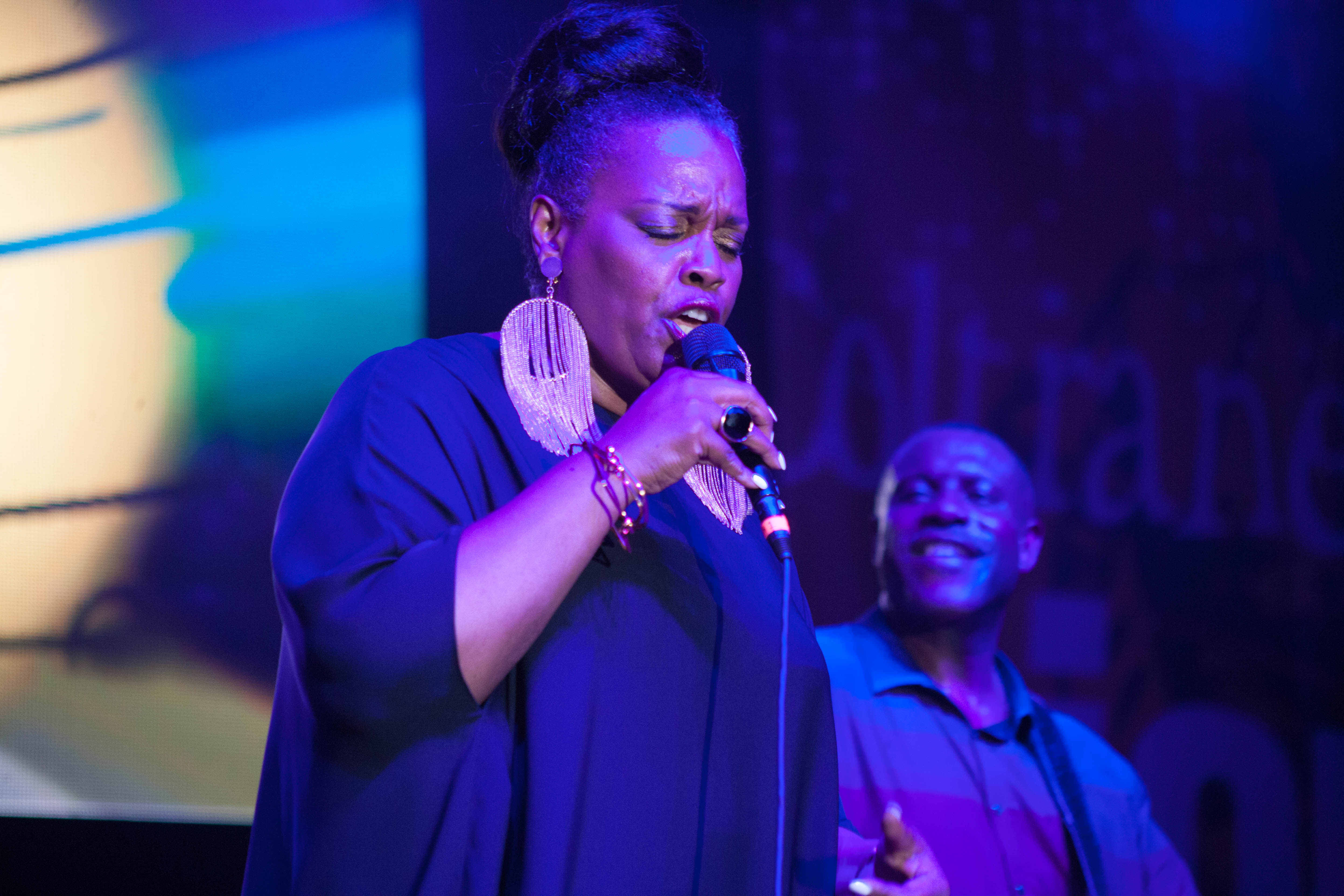 Dianne Reeves At The 8th Annual John Coltrane International Jazz And Blues Festival