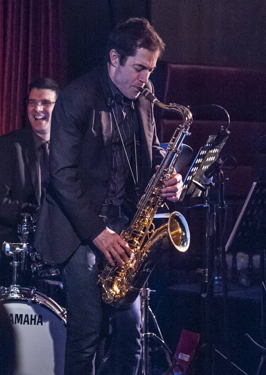 Daniel Barnes & Perry White - Colin Hunter & Joe Sealy Quartet - Jazz Bistro - Toronto