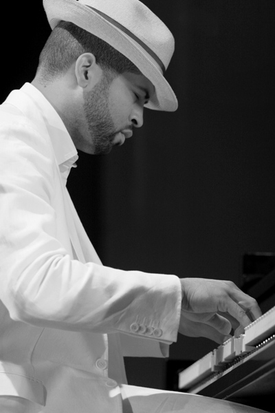 Jason Moran Performing with Band Wagon at This Years Chicago Jazz Fest; Chicago 2006