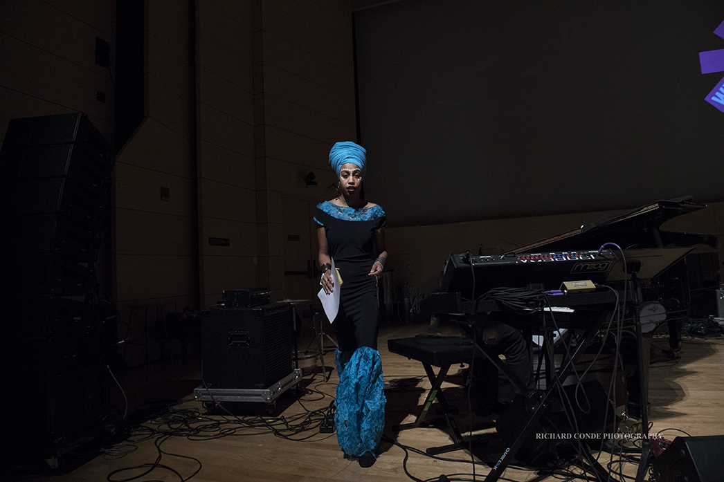 Jazzmeia Horn at the 2018 Winter Jazz Festival