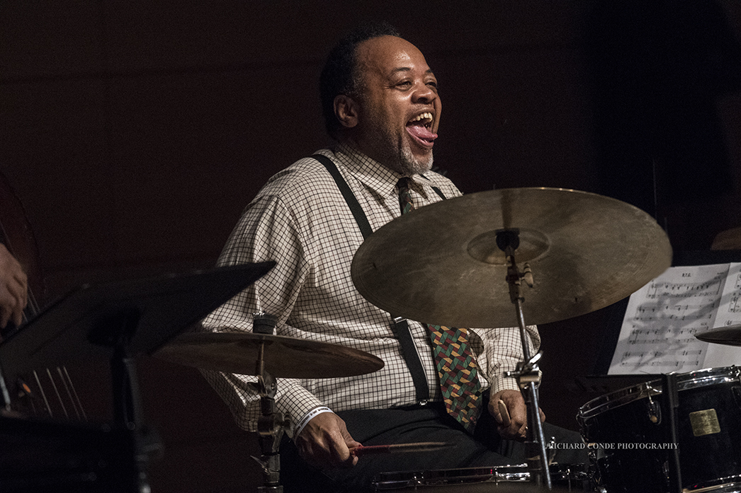 Jeff Tain Watts at the 2018 Winter Jazz Festival