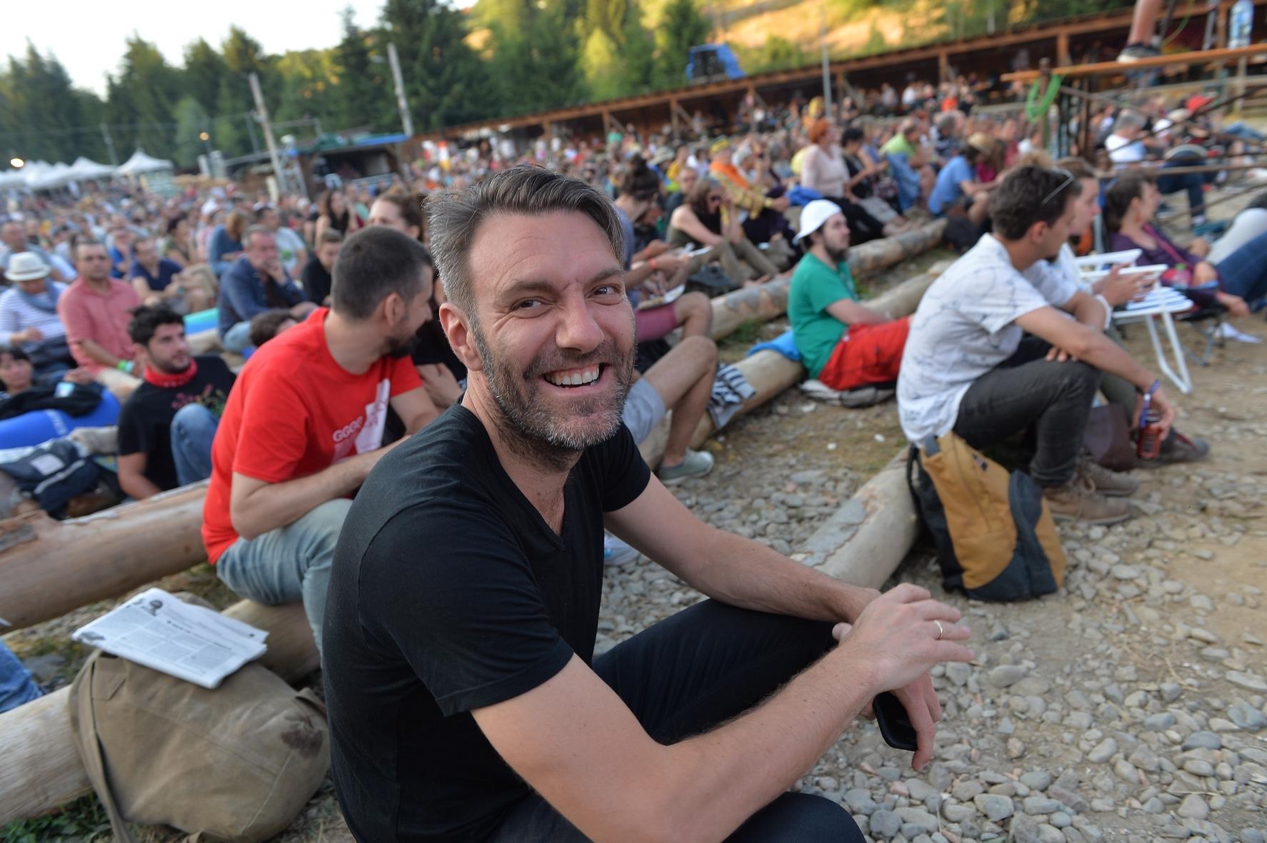 Mats Eilertsen in audience at Garana Jazz Festival 2017