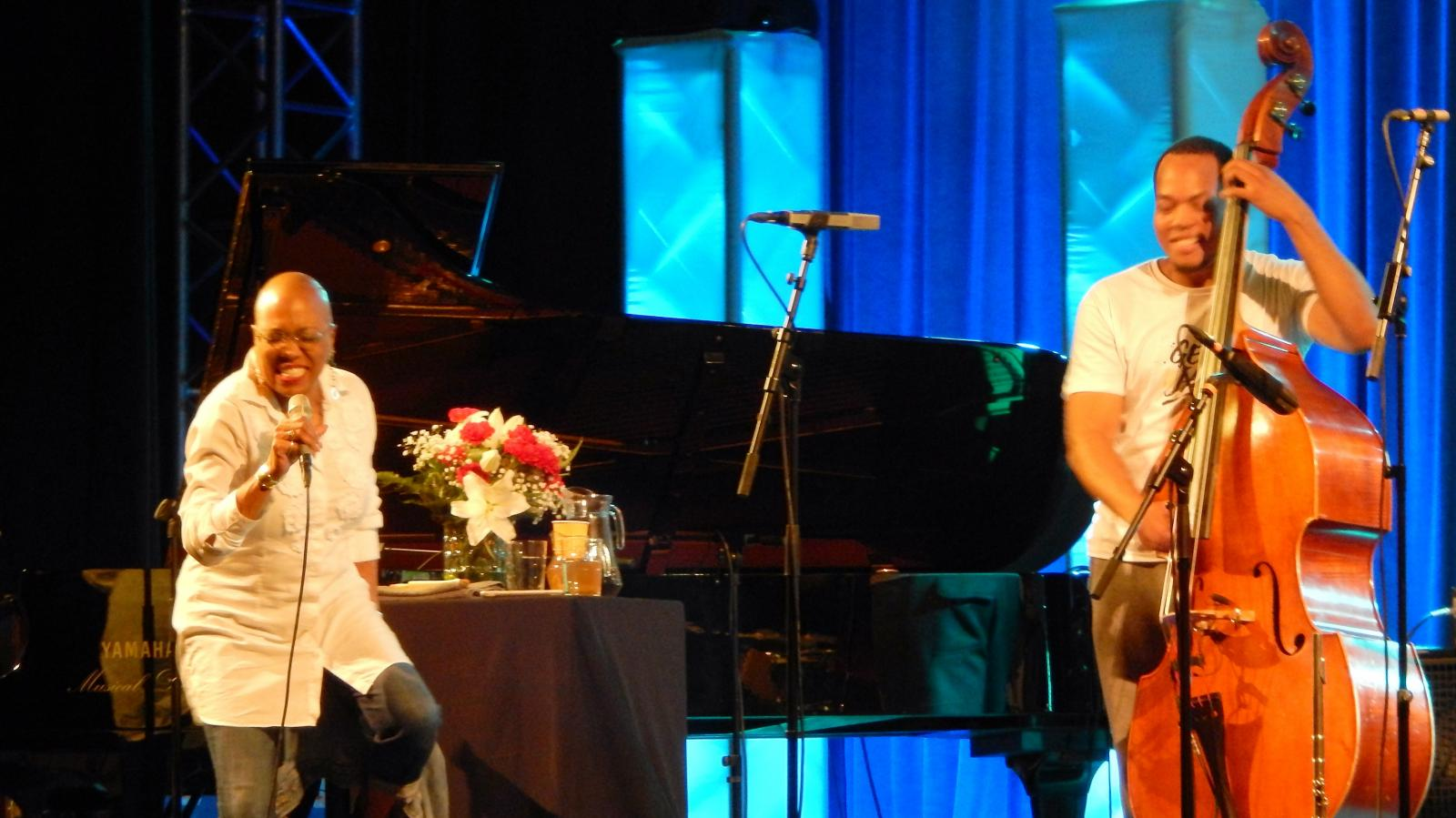 Dee Dee Bridgewater and Eric Wheeler at Getxo Jazz 2016