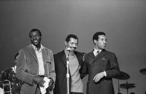 "Elvin Jones, ""Philly"" Jo Jones and Max Roach"