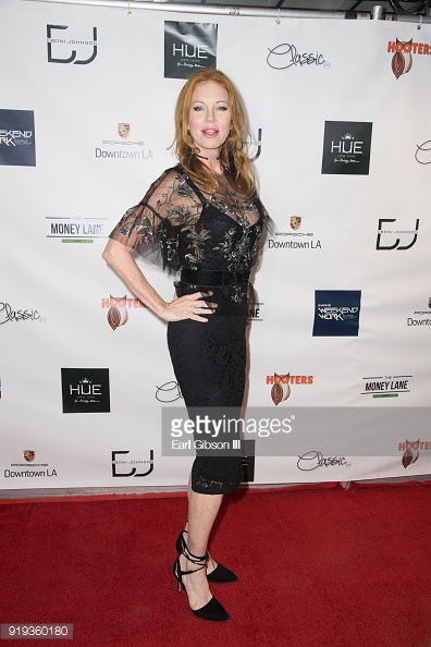 Cynthia Basinet attends NBA Legend Gary Payton hosted Mens Luxury Styling Lounge For All-Star Weekend