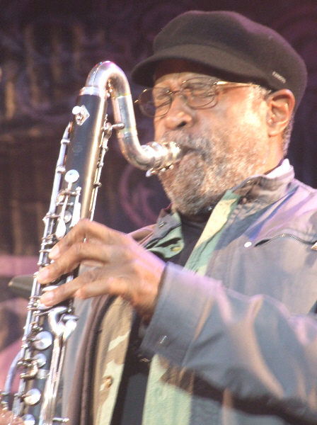Bennie Maupin with Charisma at 2010 Chicago Jazz Festival