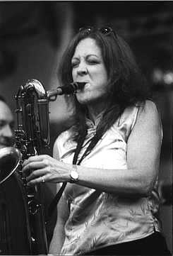 2002 Chicago Jazz Festival: Claire Daly Jammin' at the Petrillo