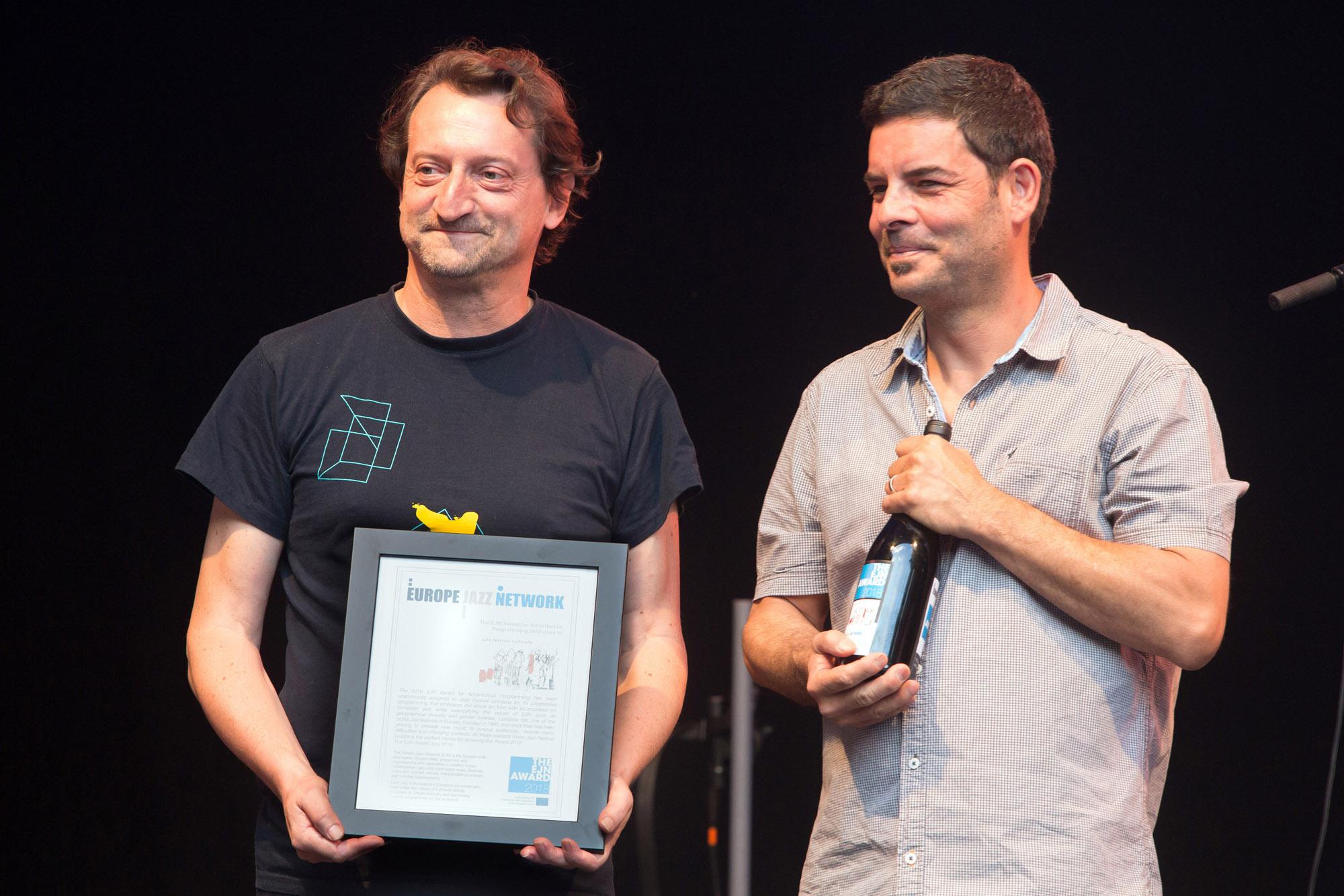 Ljubljana Jazz Festival, EJN Prize