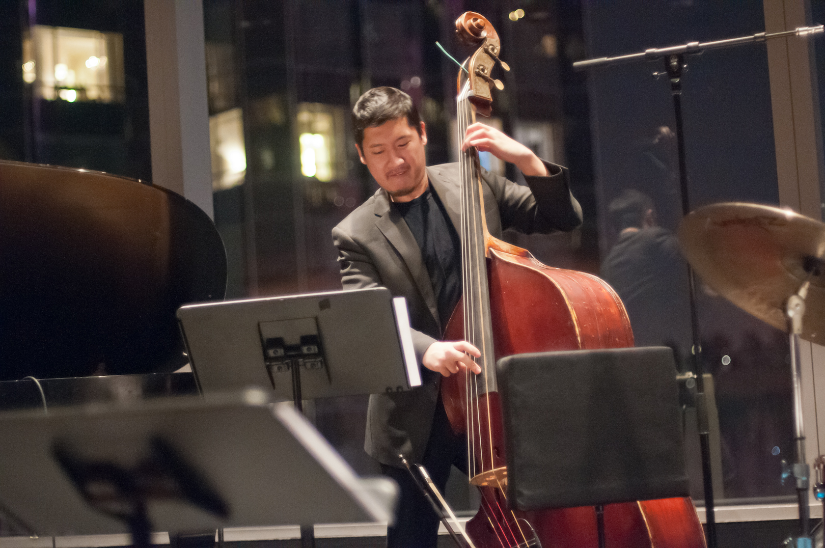 Yasushi Nakamura with the Brandon Lee Quintet at Dizzy's