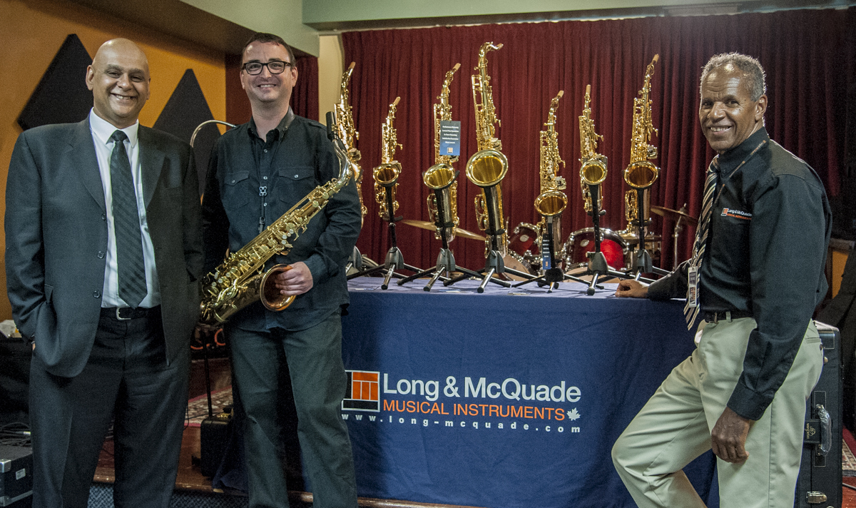 Moeen Hosain, Conn-Selmer - Kelly Jefferson - Greg Eskins, Long & Mcquade - Yanagisawa Sax Clinic - Long & Mcquade - Toronto