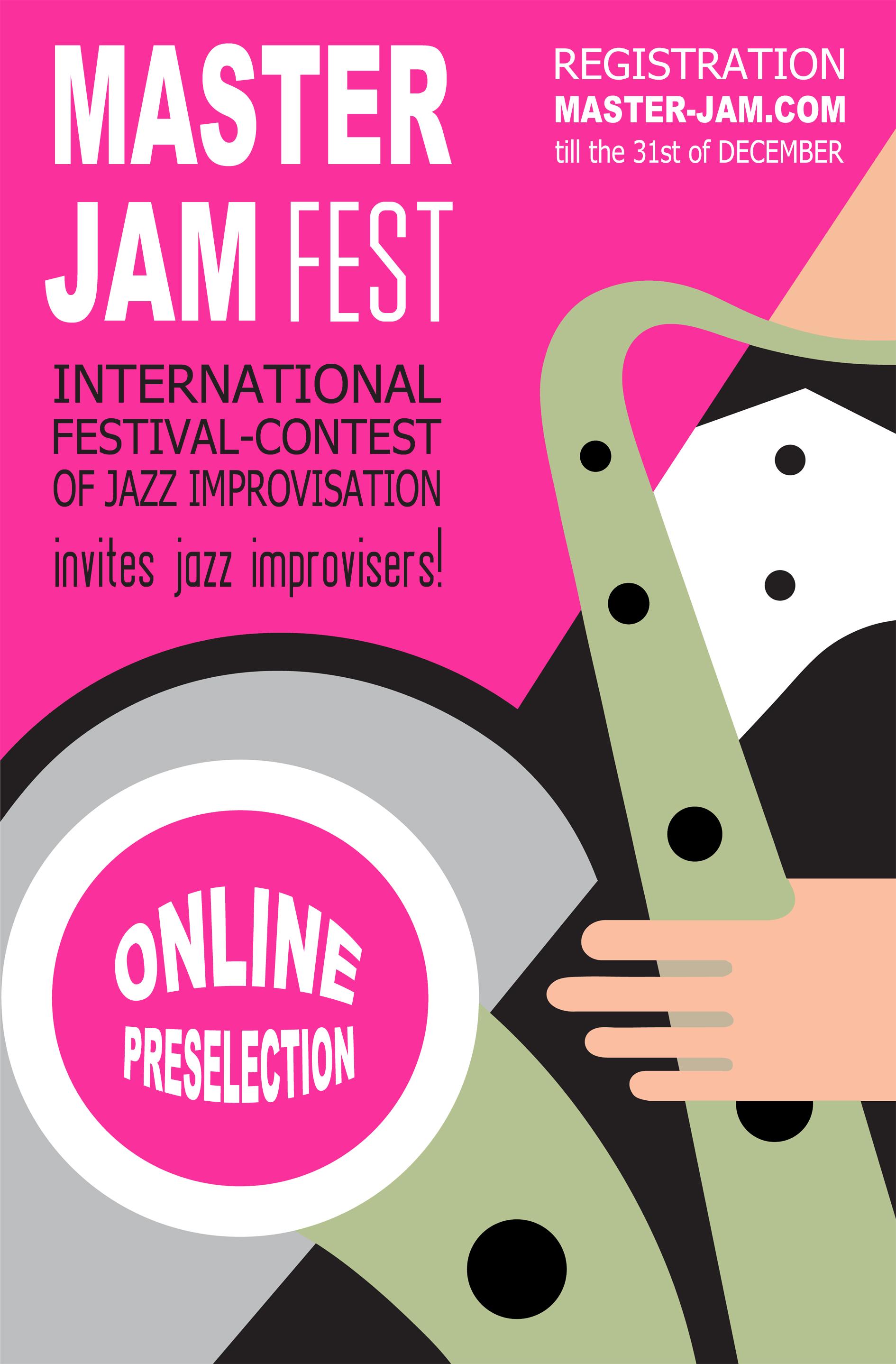 Master Jam Fest Online Preselection!