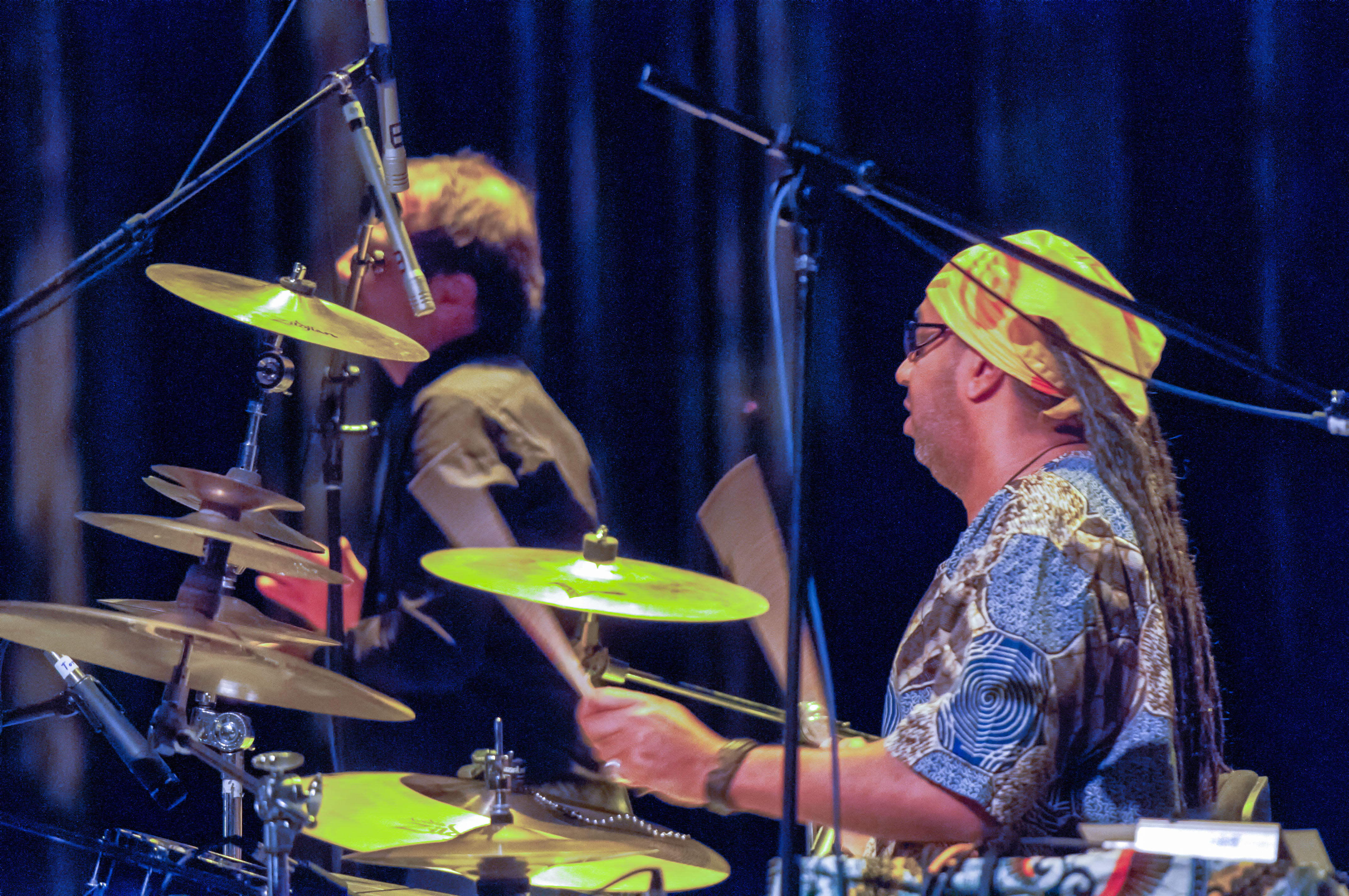 Marque gilmore with omar sosa and the afri-lectric experience at the tempe arts center