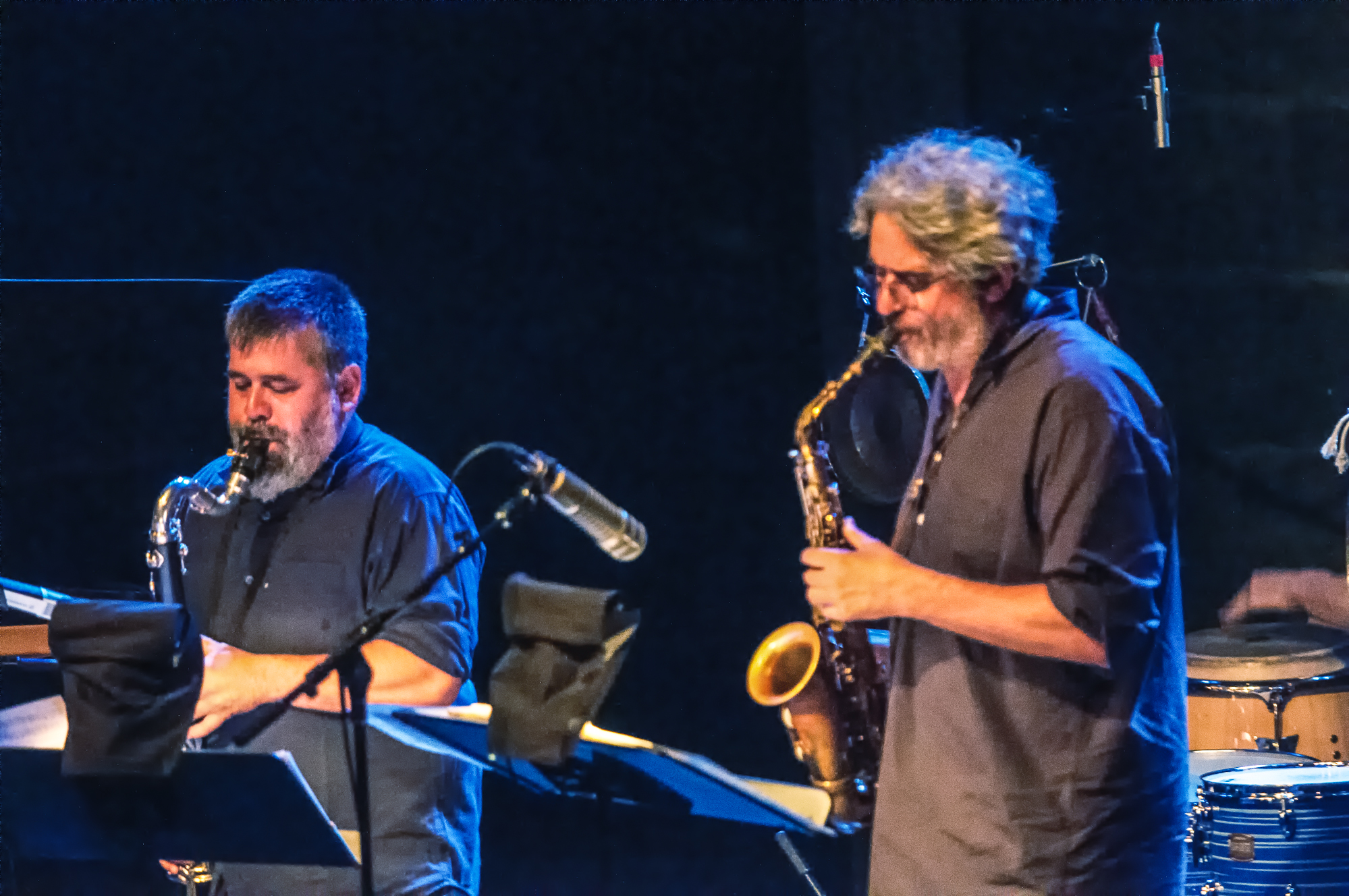Oscar noriega and tim berne with snakeoil at the montreal international jazz festival 2013