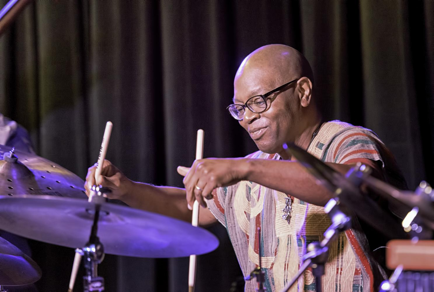 Lewis Nash With The Randy Weston Quintet At The Nash In Phoenix
