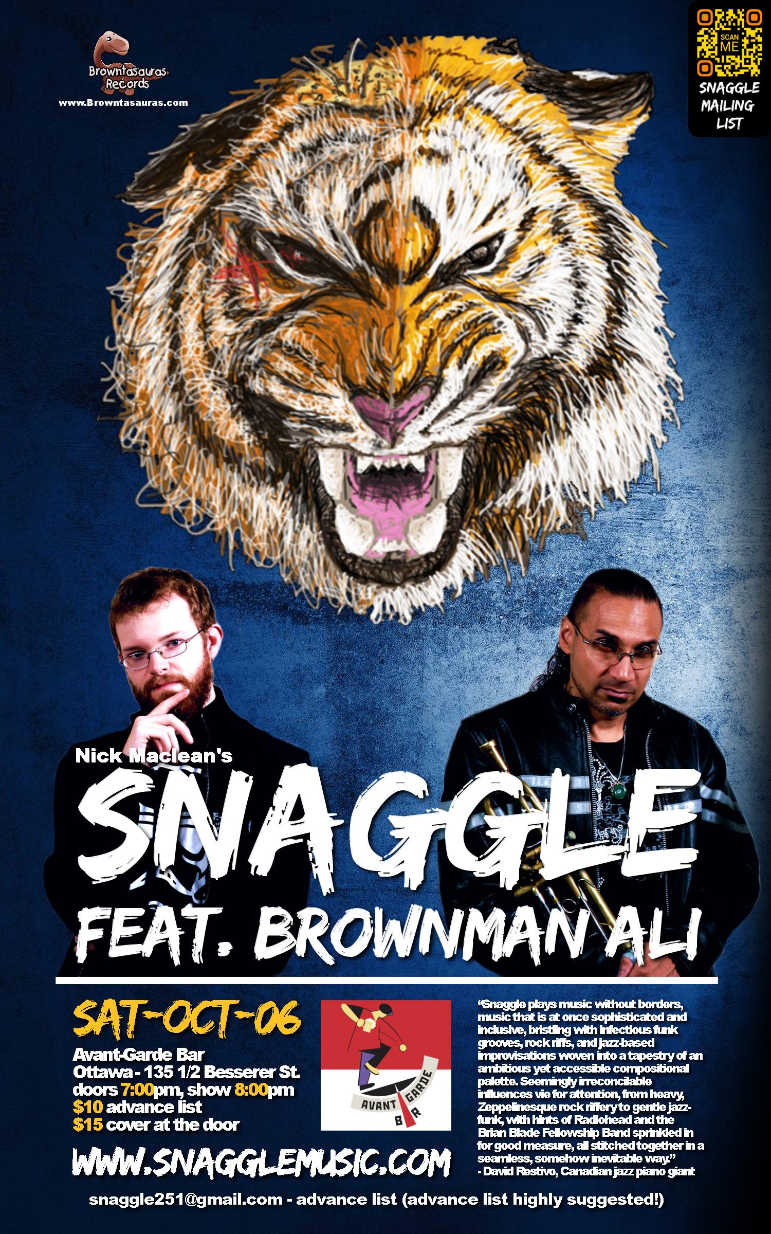 SNAGGLE feat. BROWNMAN ALI (ottawa)