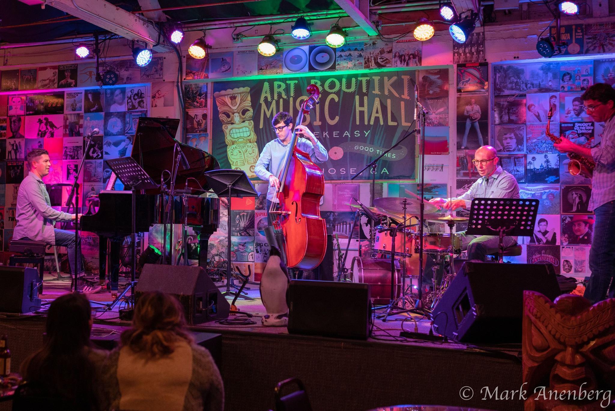 Shay Salhov Quartet Live Streamed From The Art Boutiki
