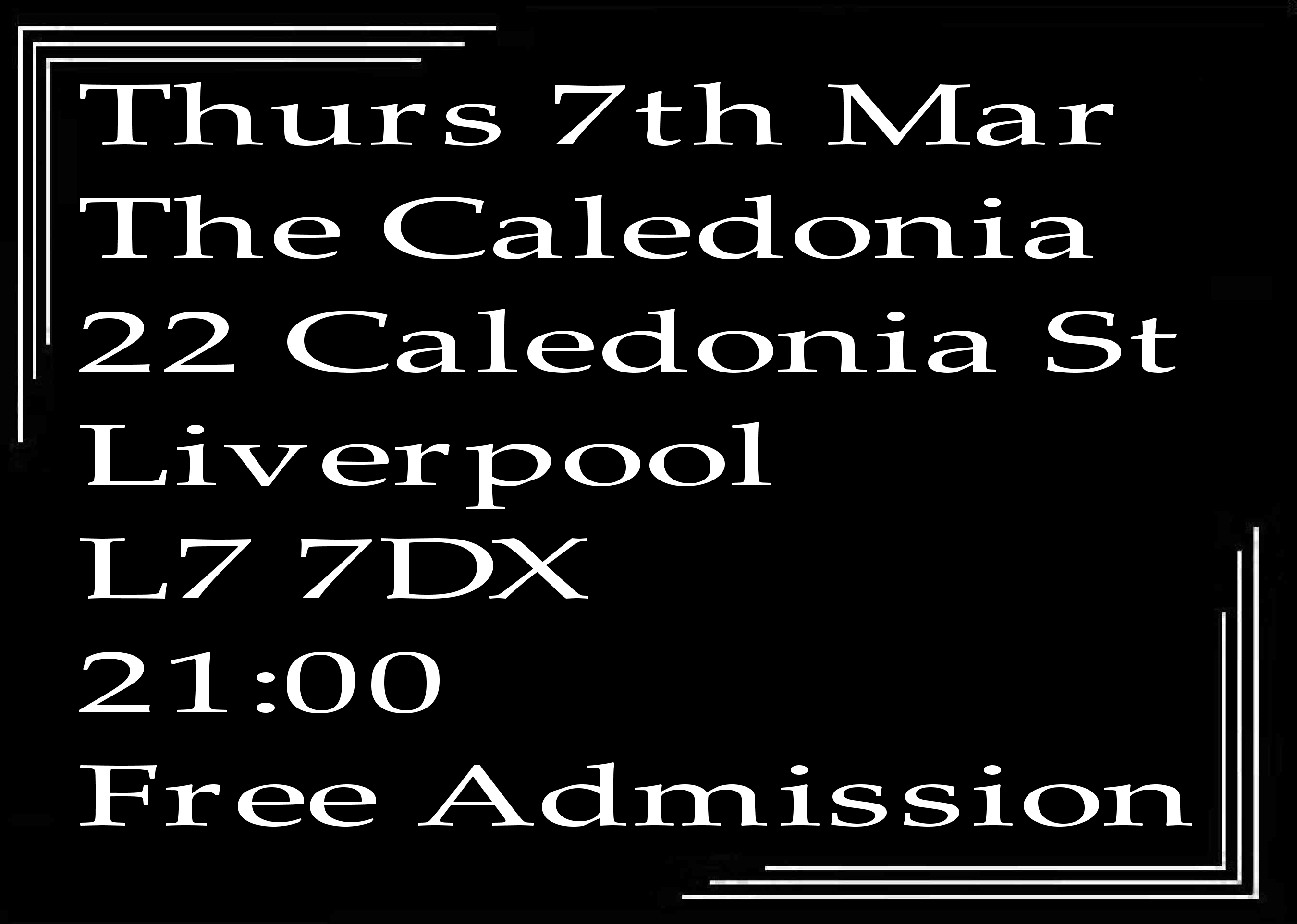 Jazz In Liverpool - Speakeasy Bootleg Band At The Caledonia