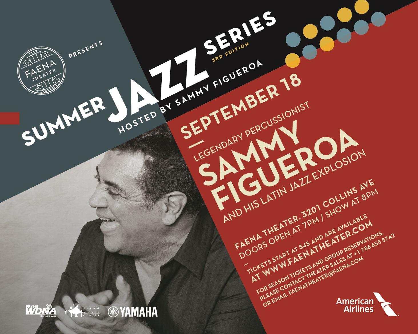 Sammy Figueroa and his Latin Jazz Explosion