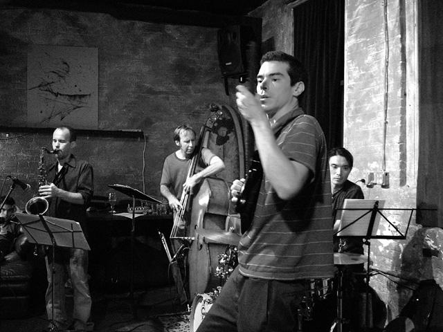 Tim Ziesmer's Ampersand with Drew Gress, Chris Speed and Take Toriyama - Tea Lounge 2005